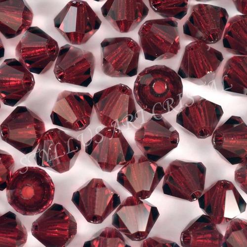 100 cristais balão preciosa garnet 04mm noivas bordados
