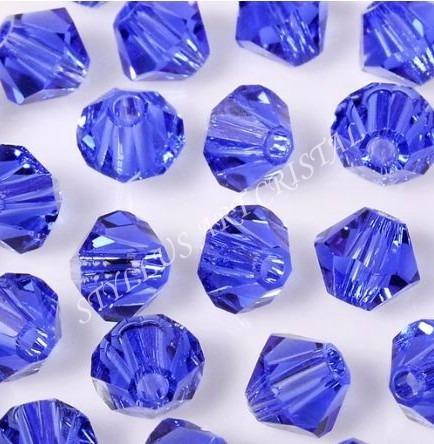 100 cristais balão preciosa sapphire 04mm noivas bordados