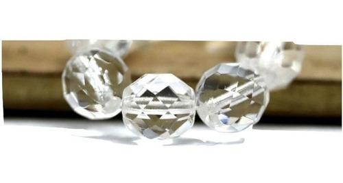 100 cristais bola com furo jablonex 04mm
