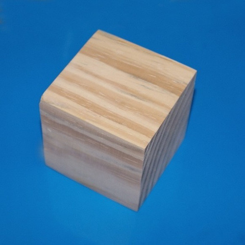 100 cubo de madeira em pinus de 5 x 5 x 5 cm