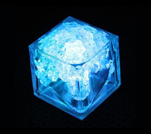 100 cubos de hielos luminosos led sumergibles colores