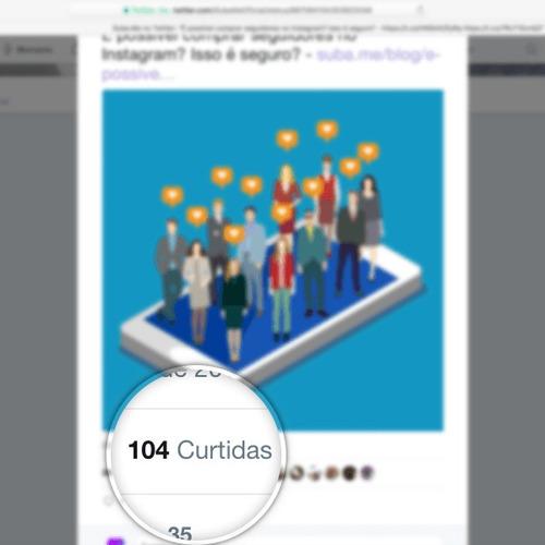 100 curtidas no twitter