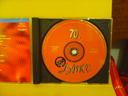 100% dance - dancing through the 70' s - cd