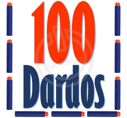 100 dardos de repuesto compatibles para nerf n-strike elite