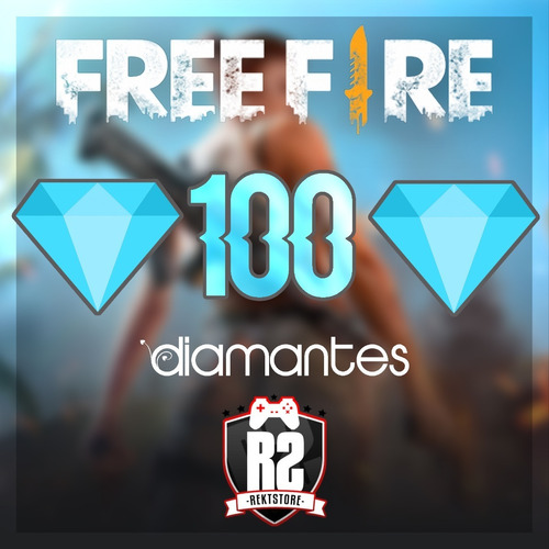 100 diamantes free fire    entrega en el dia   rektstore