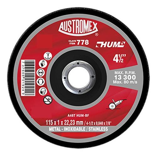 100 discos de corte austromex 778 2 en 1 hum 4.1/2