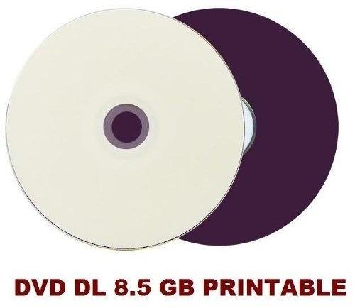 100 dvd+r printable dual layer 8.5gb xgd3 ritek promoção