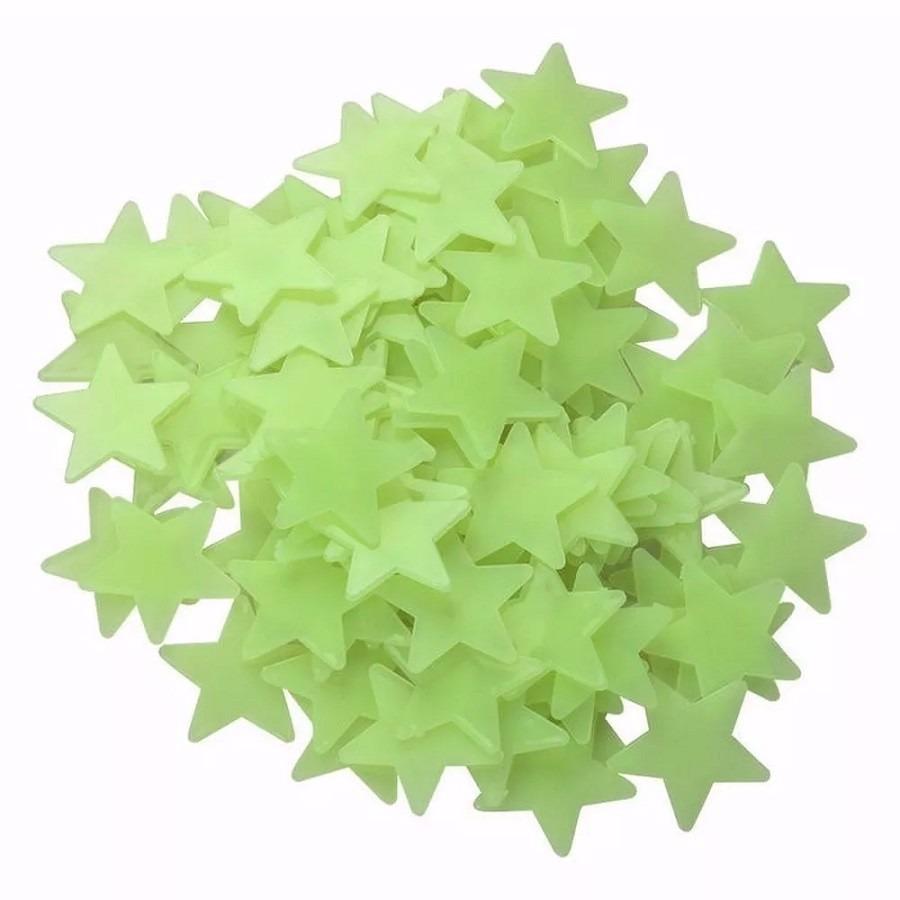 Armario Segunda Mano Mallorca ~ 100 Estrela Teto Parede Fluorescente Adesiva Brilha Escuro R$ 39,88 em Mercado Livre
