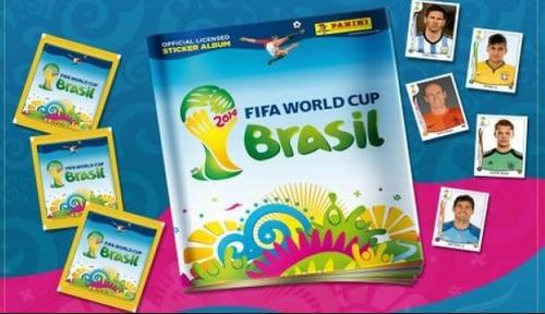 100% figuras album mundial brasil 2014 panini oficial