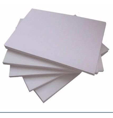 100 folhas de papel matte sublimático de alta definição a4