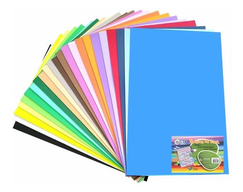 100 folhas eva atacado placas 40x48 escolar artesanato - top