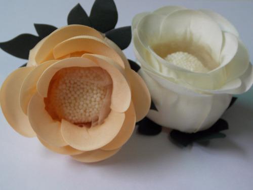 100 forminhas de doces flor tecido caixetas