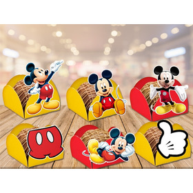 100 Forminhas Para Doces Mickey - Frete R$10