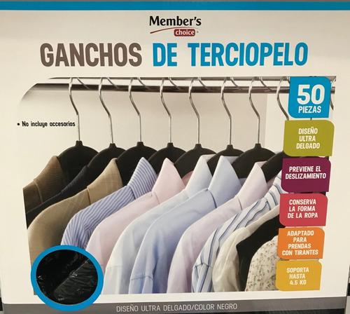 100 ganchos para ropa terciopelo de alta calidad oferta
