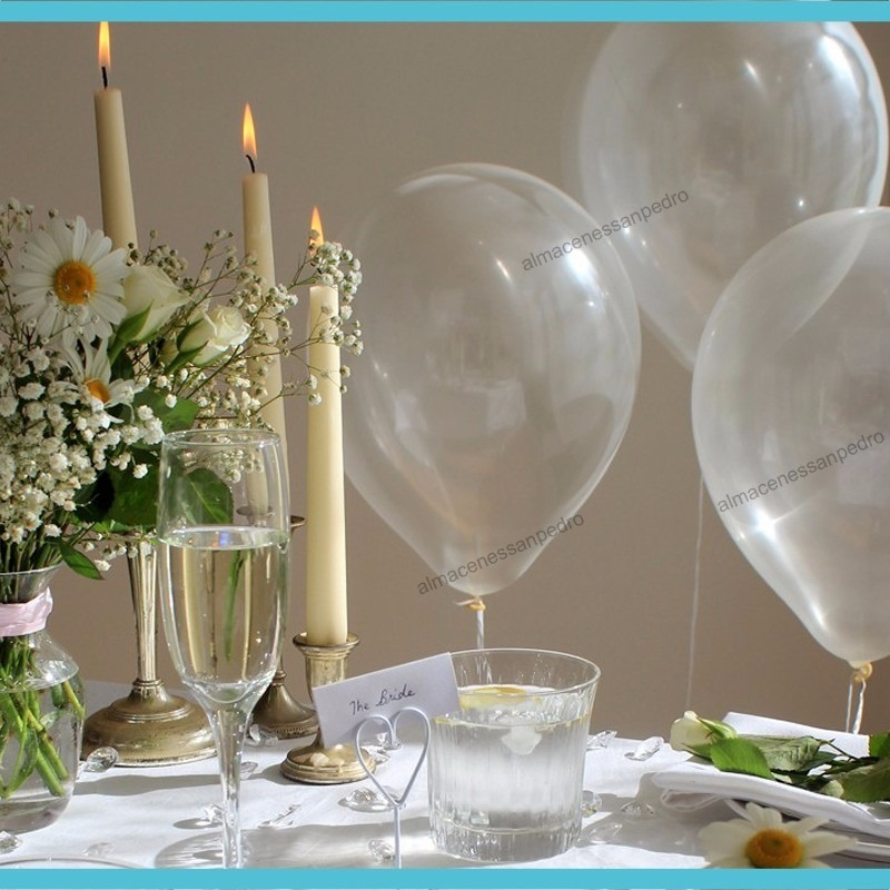 100 globos transparentes en mercado libre for Donde comprar globos