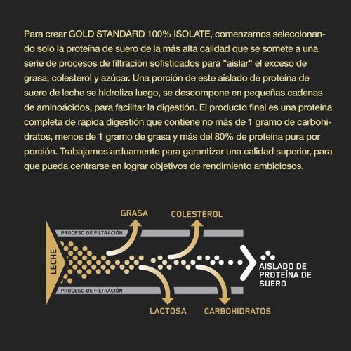 100% gold st isolate vanilla 5l - unidad a $205200