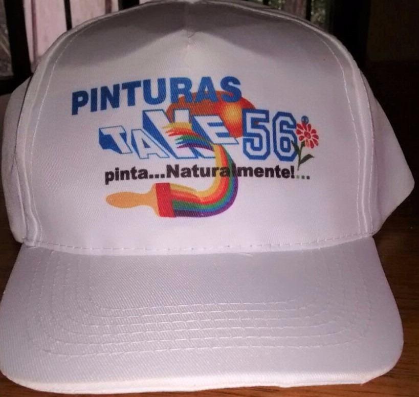 fcdbd1a04168f 100 gorras blancas con logo. mejor precio por mayor. Cargando zoom.