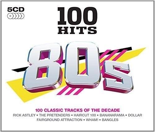 100 hits 80´s 5cds album varios artistas (importado)