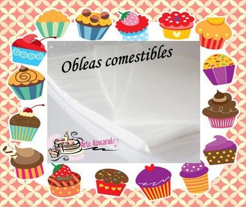 100 hojas de arroz y papa comestible para pastel oblea