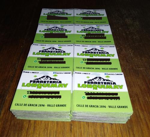 100 imanes magneticos personalizados 7 x 5