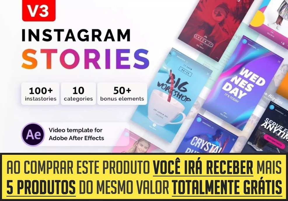 100 instagram stories animados para after effects brindes r 19 carregando zoom ccuart Image collections