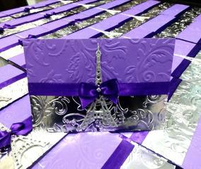 100 Invitacion Xv Años Paris Pases Celeste