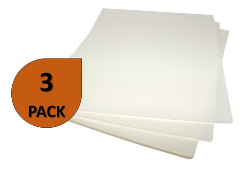 100 laminas de plastificar 175 micrones 75x105 mm gruesas