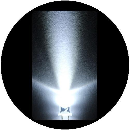 100 leds ultrabrillantes de 5mm_______colores variados