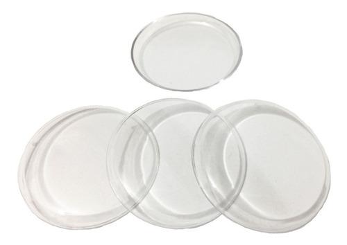 100 lentes transparentes de 45mm - futebol de mesa