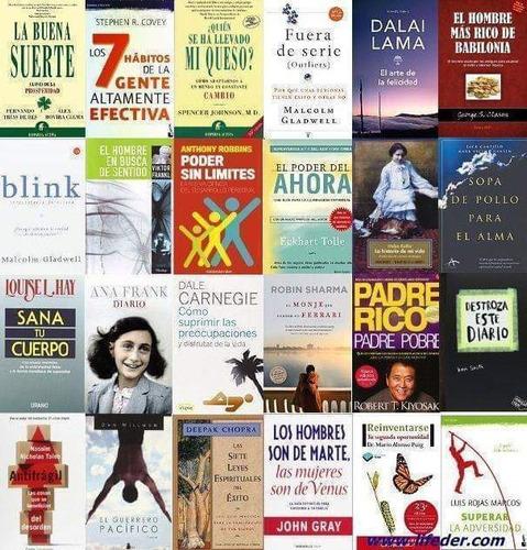 100 libros de desarrollo personal, liderazgo y muchos más
