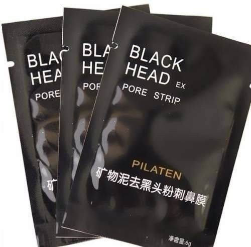 100 máscara removedor cravos pilaten black head limpeza pele