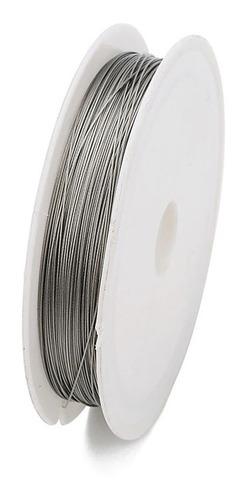 100 metros cabo de aço para lustres + 1000 fixadores