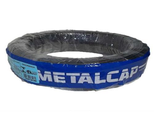 100 metros cabo fio flexível 6mm - metalcap full