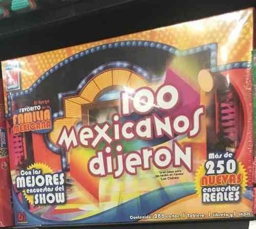 100 Mexicanos Dijeron Juego De Mesa Envio Gratis 549 00 En