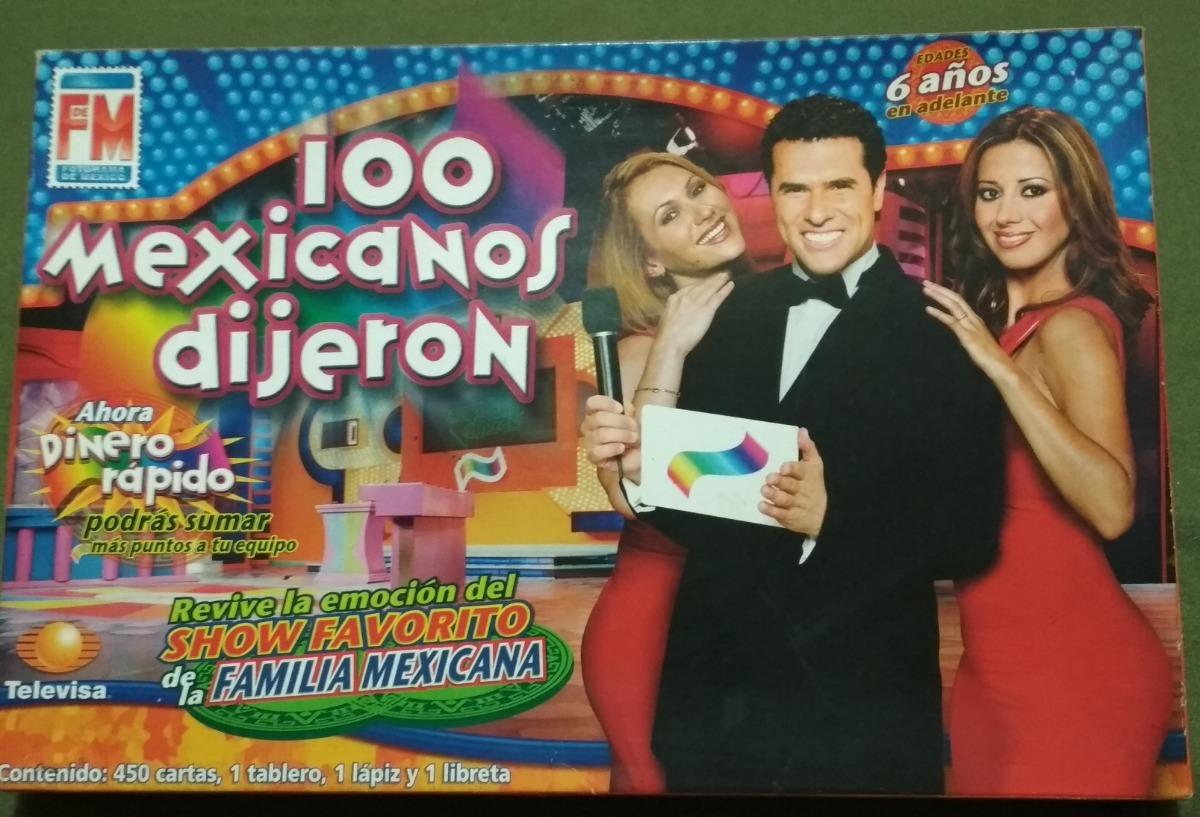 100 Mexicanos Dijeron Juego De Mesa Fotograma De Mexico 160 00