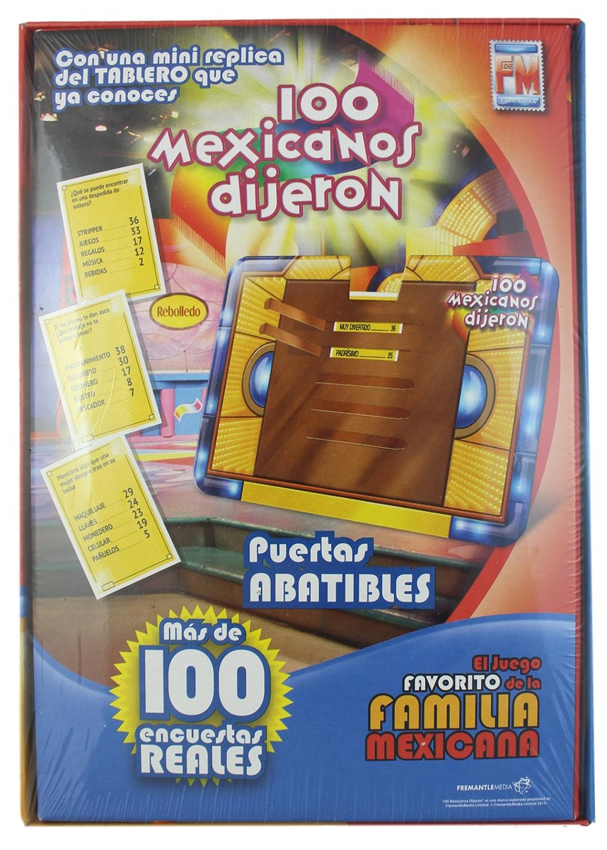 100 Mexicanos Dijeron Juego De Mesa Tamano Pequeno Edicio
