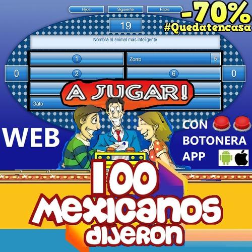 100 mexicanos dijeron software web app