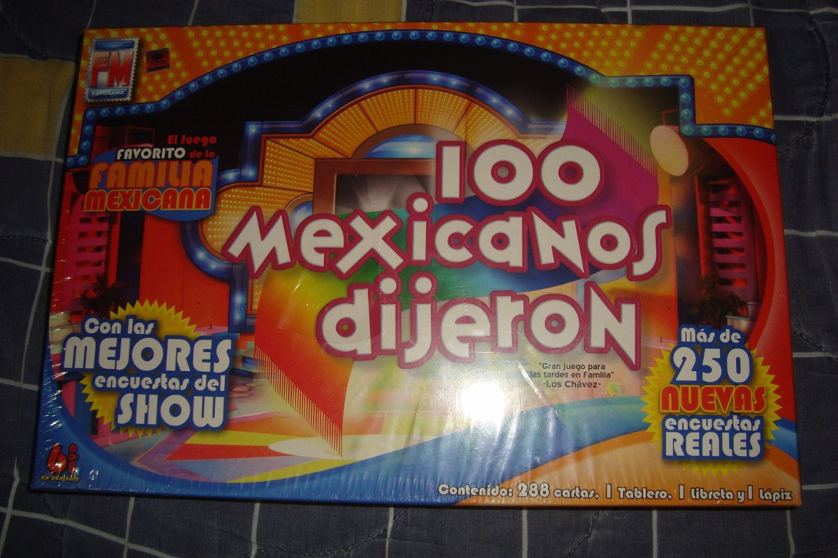 100 Mexicanos Dijieron Juego De Mesa 650 00 En Mercado Libre