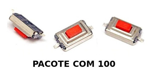 100 micro chave botão switch p/ chevrolet gm - lote com 100