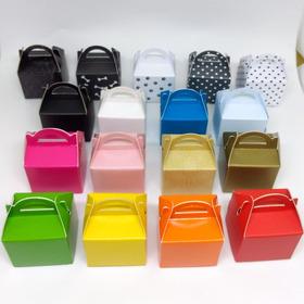 100 Mini Caixa Caixinha Tipo Maleta Lembrancinha Em Papel