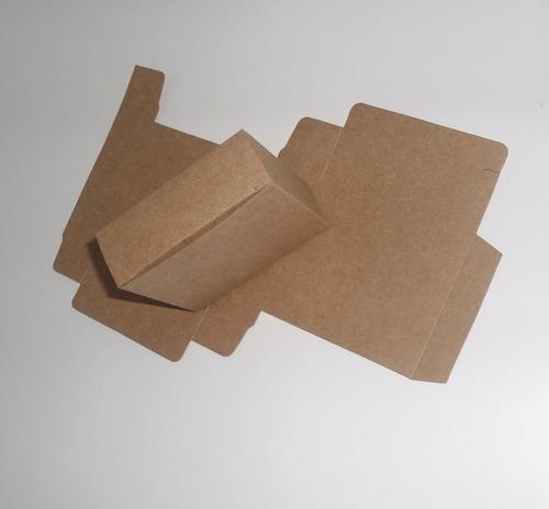 100 mini caixinhas papel kraft lembrancinha tipo remédio