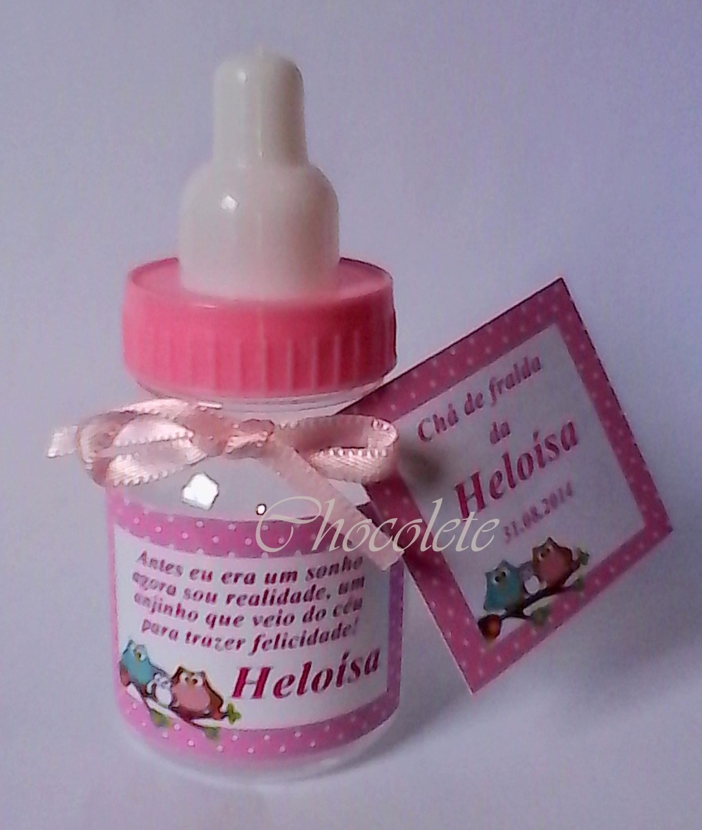 100 Mini Mamadeira Lembrancinha Maternidadechá De Bebe R 17000