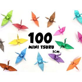 100 Mini Tsuru À Sua Escolha (3cm)