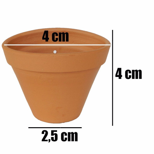 100 mini vasinho de cerâmica p/ lembrancinhas, artesanato