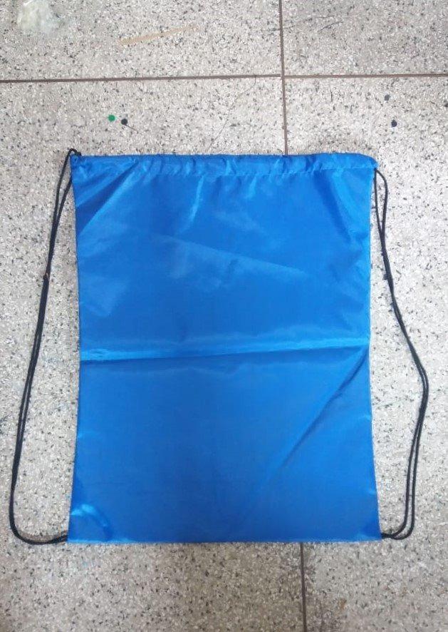 ba0085c4b 100 Mochilas Saco Nylon 33x40 Personalizadas Logotipo - R$ 650,00 em ...