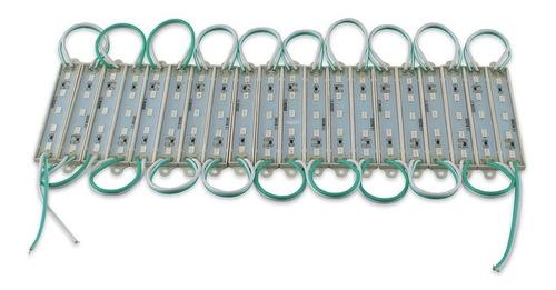 100 módulos luz 5 led 5630