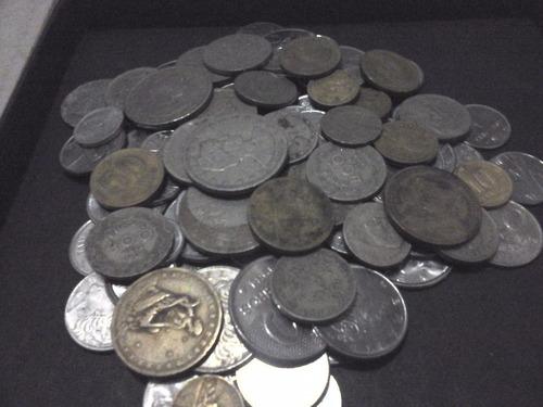 100 moedas antigas nacionais