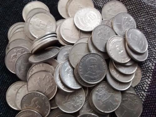 100 monedas chile 1 escudo 1971 (b4