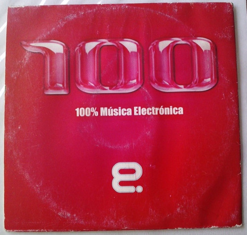 100 % musica electronica eurohouse cd promo raro cardsleeve