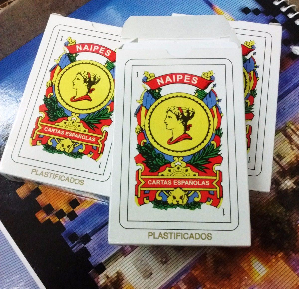 100 naipes españoles mazo x 50 cartas a 22 c u envio gratis